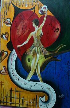 Dancing Girl by Sonam Shine