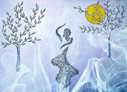Dancing in the moonlight by Jo Ann