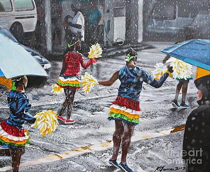 Dancing in the rain by Kelvin James