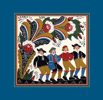 Dancing Men I by Leif Sodergren
