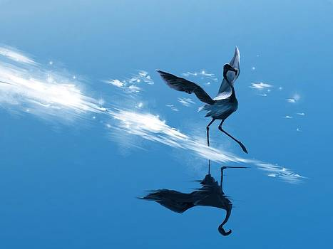 Dancing on Water by Kristina Becker
