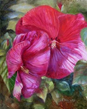 Dancing Petals by Sharen AK Harris
