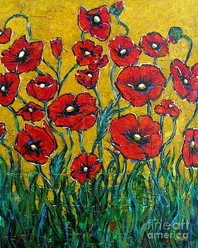 Dancing Poppies by Vickie Fears