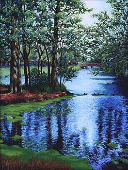 Dancing Waters by Penny Birch-Williams