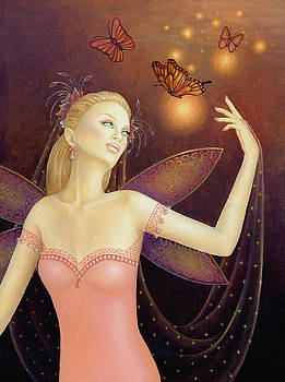 Dancing with Butterflies by B K Lusk