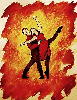 Dancing with Fire Series 1 by Ally Mueller