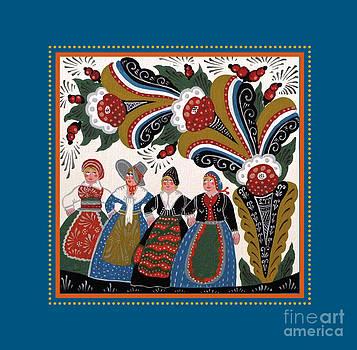 Dancing Women 4 by Leif Sodergren
