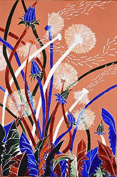 Dandelion arrows by Verginiya Ivanova