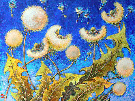 Dandelions by Raisa Vitanovska