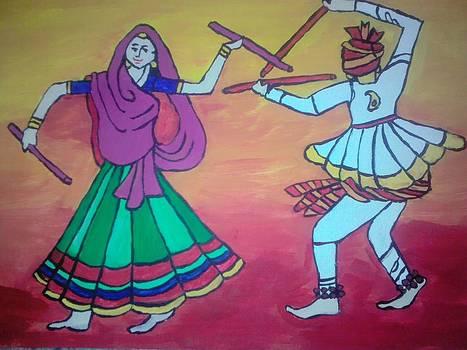 Dandia Raas by Neha  Shah