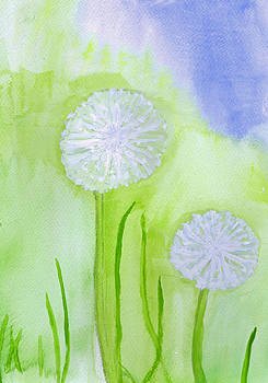 Dandilions by Moya Moon
