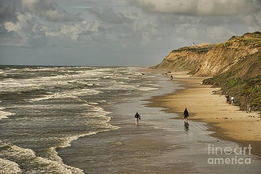 Danish beach in north Jutland by Gry Thunes