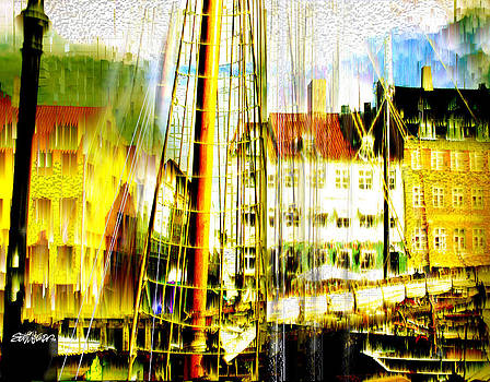 Danish Harbor by Seth Weaver