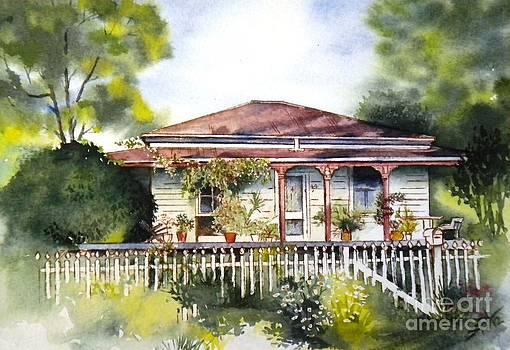 Danny Deck Chairs House  by Sandra Phryce-Jones