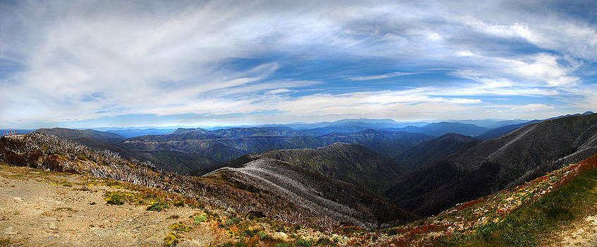 Dannys piont mnt Hotham by Glen Johnson