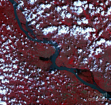 Science Source - Danube River Floods