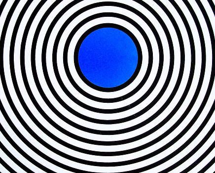 Dark Blue Circle by Scott Shaver