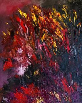 Dark Flowers by Larry Ney  II