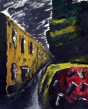 Darkened Street by Aaron Guthrie