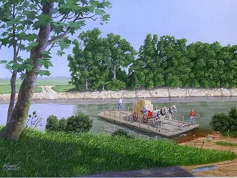 Darwin Ferry by C Robert Follett