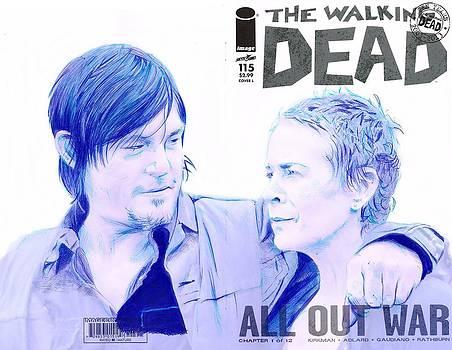 Daryl and Carol by Kyle Willis