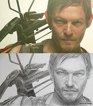 Daryl Walking Dead by Danse DesSonges