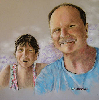 Dave and Michelle by Larry Whitler