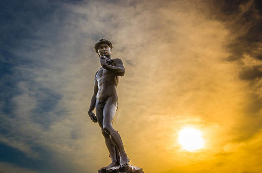 David at Sunrise by Anthony Morganti