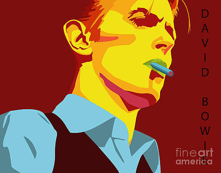 David Bowie by Patrick Collins