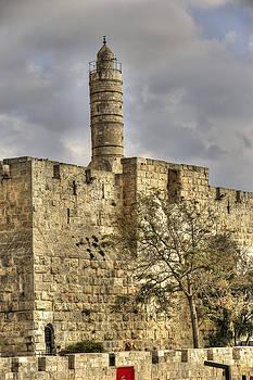 Isaac Silman - David tower Jerusalem