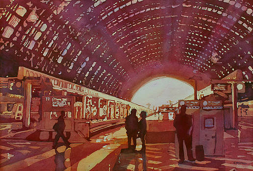 Jenny Armitage - Dawn at the Station
