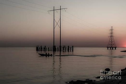 Kathleen K Parker - Dawn Boat Ride on Lake Pontchartrain