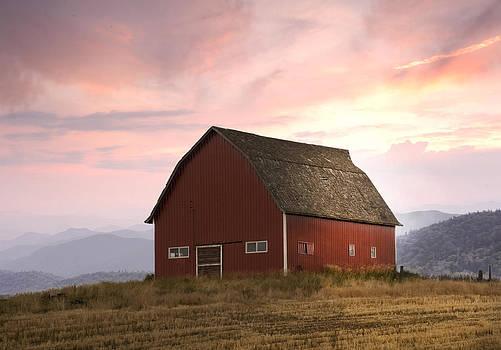 Randall Branham - Dawn on Mountain Barn