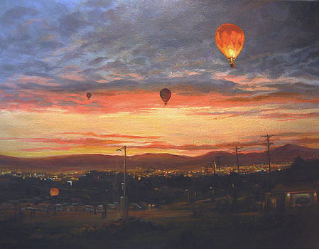 Dawn Patrol by Donna Tucker
