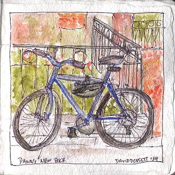 Dawn's New Bike by David Dossett