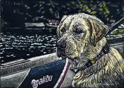 Dawson at the Lake by Robert Goudreau
