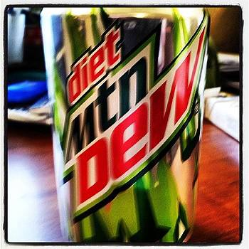 Day 5 On The Diet Mt. Dew Which I Think by Holley Jacobs