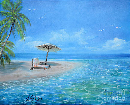 Day At The Beach by Earl  Butch Curtis