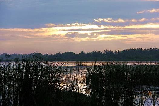 Day Break over Lagoon by Ajithaa Edirimane