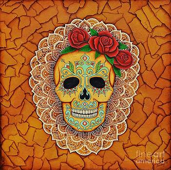 Day of the Dead with Roses and Lace by Joseph Sonday
