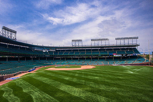 Day Off at Wrigley Field by Tom Gort