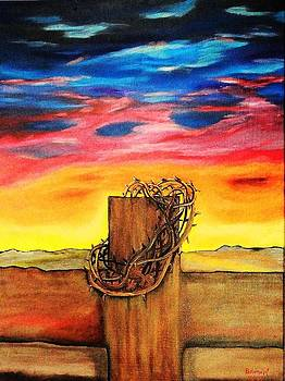 Daybreak on Golgotha by Lisa Brandel