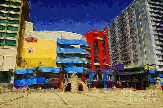 Daytona Beach Shopping by Ules Barnwell