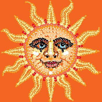 Dazzling Sun by R  Allen Swezey