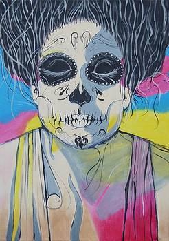 Dead drag-queen Francesco by Pamela Gebler