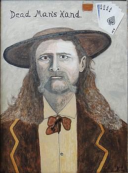 Dead man's hand.James Butler Hickok. by Ken Zabel