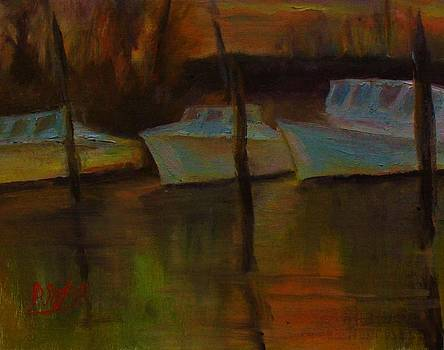 Deal's Island Sunset by Patricia Seitz