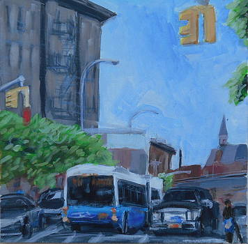 Dean St and Nostrand Ave by Tu-Kwon Thomas