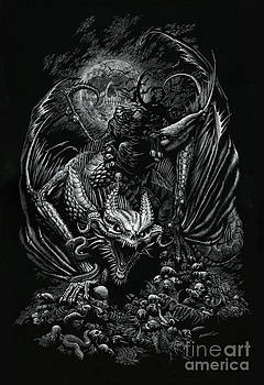 Death Dragon by Stanley Morrison