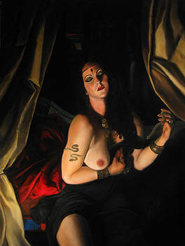 Death of Cleopatra by Eric  Armusik